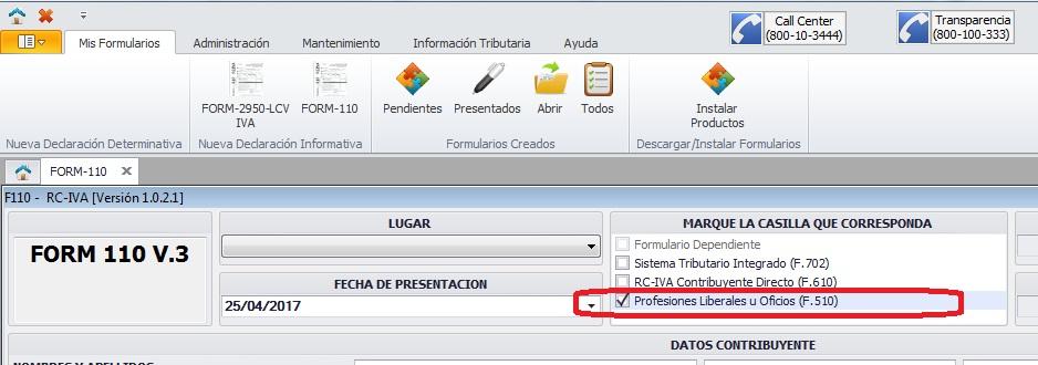 formulario-110-profesional-independiente