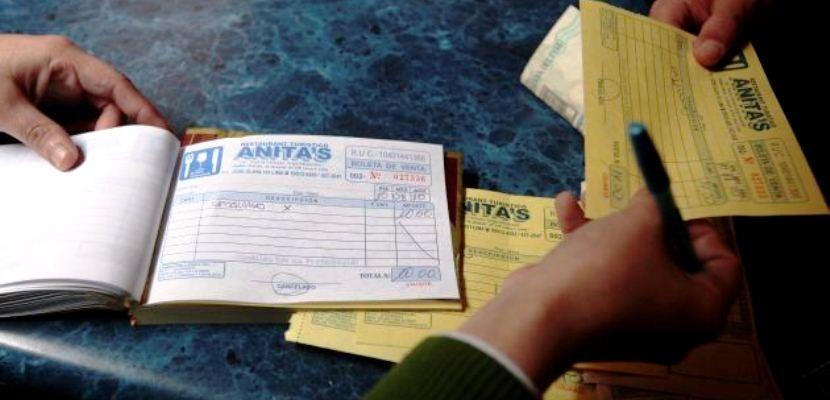 facturas no utilizadas bolivia