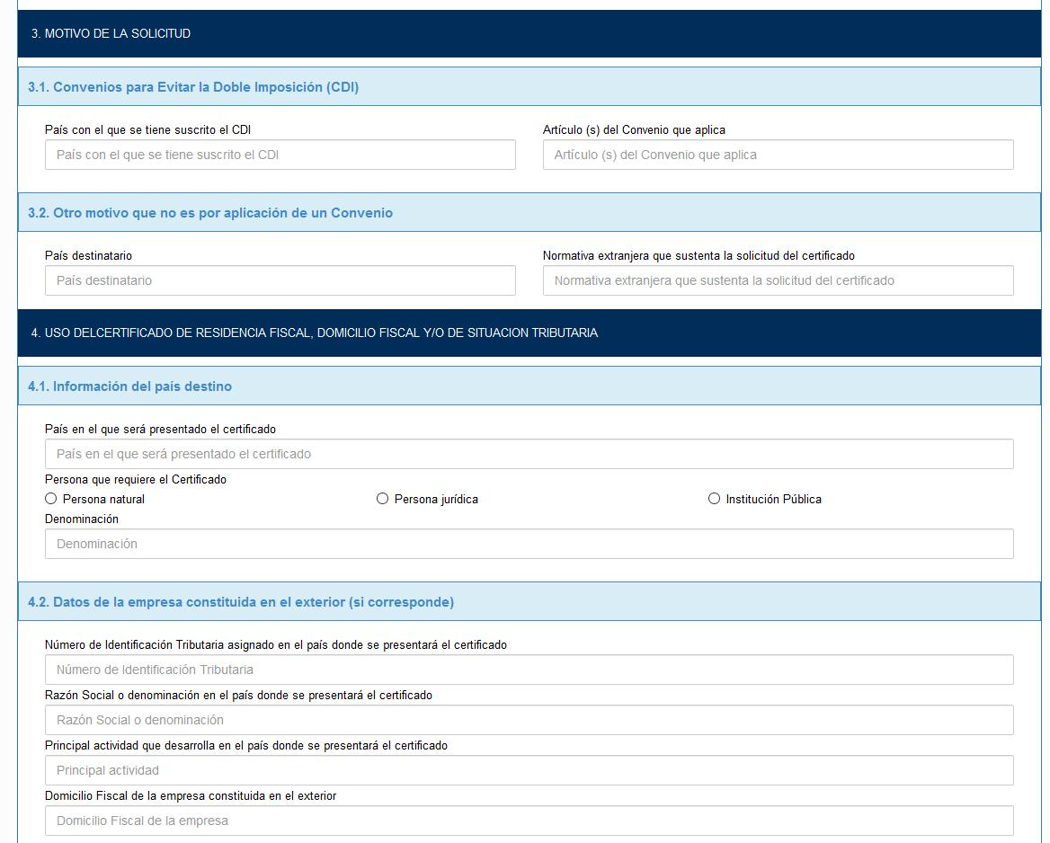 formulario certificado de residencia bolivia cdi