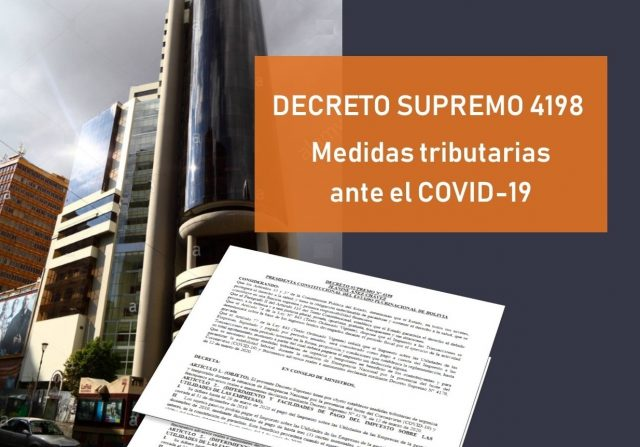 ds 4198 medidas tributarias covid 19